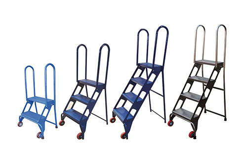 Folding Ladders With Wheels